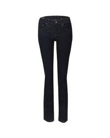 G-Star Womens Blue Midge Mid Straight Jean