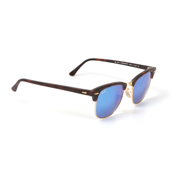 Ray-Ban Mens Multicoloured ORB3016 Clubmaster Sunglasses