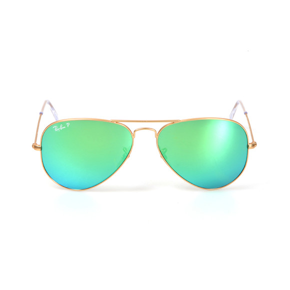 Ray Ban Mens Gold ORB3025 Sunglasses main image