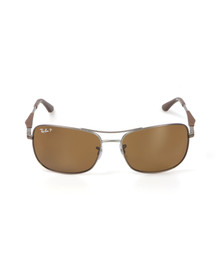 Ray Ban Mens Brown ORB3515 Sunglasses
