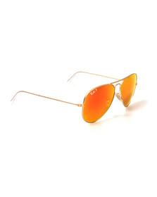 Ray Ban Mens Gold ORB3025 Sunglasses