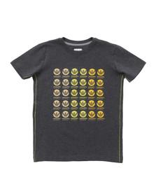 Armani Junior  Boys Grey B4H08 Logo T Shirt