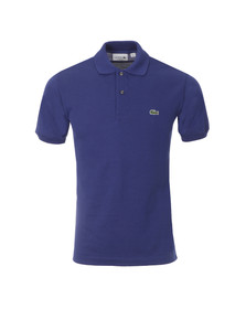 Lacoste Mens Blue L1212 Ocean Plain Polo Shirt