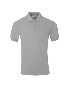 Lacoste Mens Grey L1212 Platine Plain Polo Shirt
