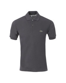 Lacoste Mens Grey L1212 Gravite Plain Polo Shirt