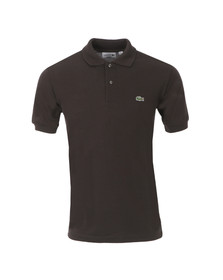 Lacoste Mens Brown L1212 Cacaotier Plain Polo Shirt