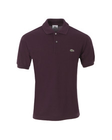 Lacoste Mens Purple L1212 Ganache Plain Polo Shirt