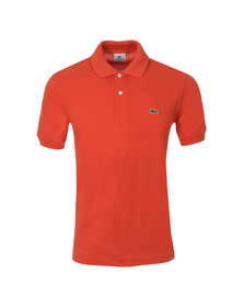 Lacoste Mens Orange L1212 Orangeraie Plain Polo Shirt