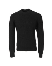 Paul Smith Jeans Mens Black Chunky Ribbed Jumper