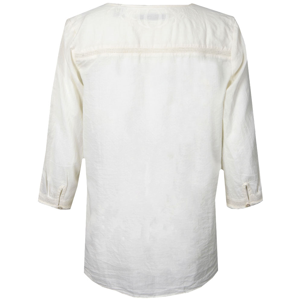 Cotton Tunic With Lace Inserts main image
