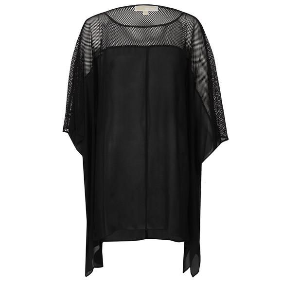 Michael Kors Womens Black Flutter Top main image