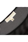 Michael Kors Womens Black Flutter Top