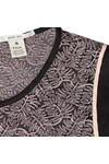 Maison Scotch Womens Red Leaf Embroidery Top