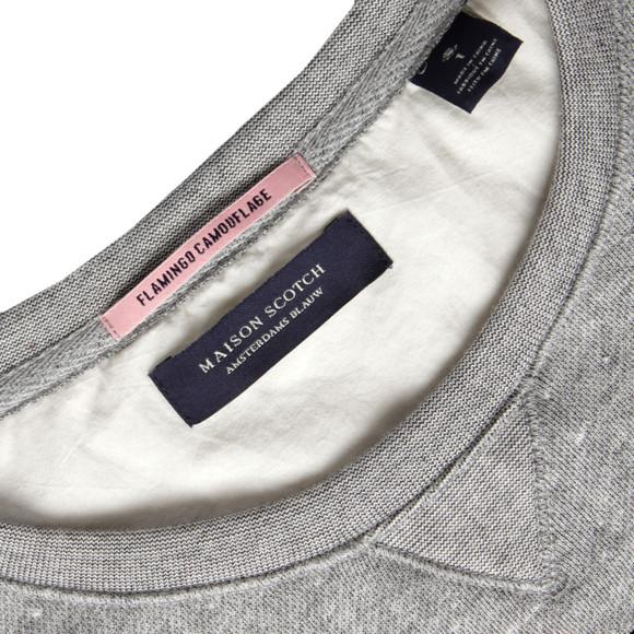 Maison Scotch Womens Grey Vintage Inspired Summer Sweat main image