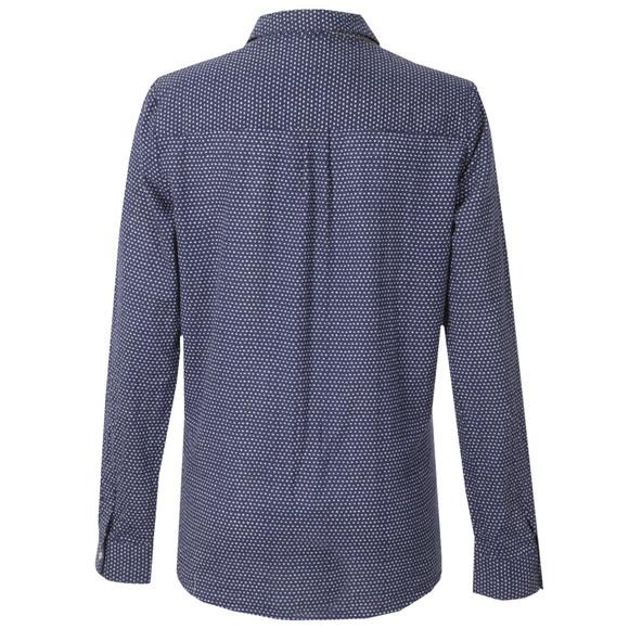 Maison Scotch Womens Blue All Over Printed Woven Shirt main image