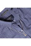 Maison Scotch Womens Blue All Over Printed Woven Shirt