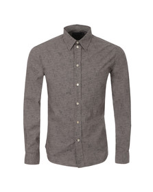 Paul Smith Jeans Mens Grey Tailored Fit Hippo Shirt