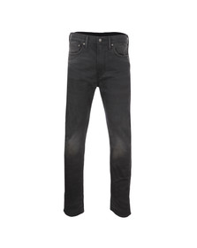 Levi's Mens Black 522 Slim Taper Jean