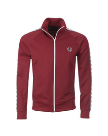 Fred Perry Sportswear Mens Red Laurel Wreath Tape Track Top