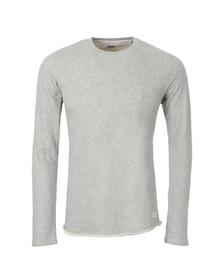 Edwin Mens Grey Terry Crew Sweatshirt