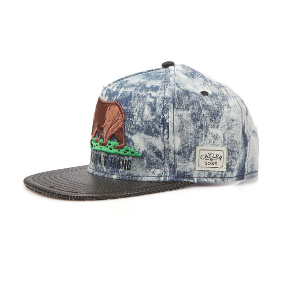 Cayler & Sons Mens Blue G Thang Cap main image