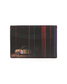 PS by Paul Smith Mens Black Mini Print Card Holder