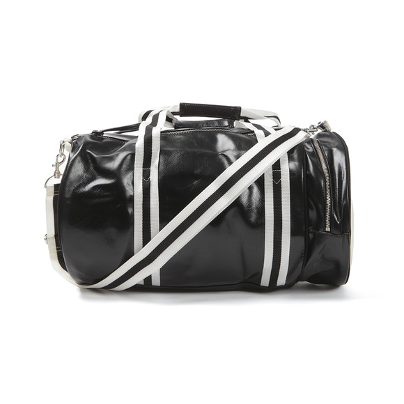 Fred Perry Mens Black Classic Barrel Bag main image