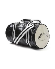 Fred Perry Sportswear Mens Black Classic Barrel Bag