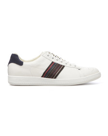 Paul Smith Mens White Rabbit Leather Trainer