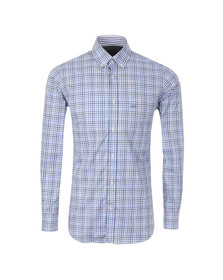 Paul & Shark Mens Blue L/S Check Shirt