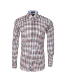 Paul & Shark Mens Multicoloured L/S Check Shirt