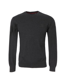 Paul & Shark Mens Grey L15P0019 Crew Neck Jumper