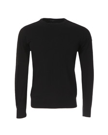 Paul & Shark Mens Black Knitted Jumper