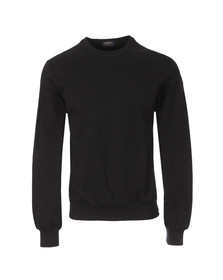 Paul & Shark Mens Black L/S Sweat Top