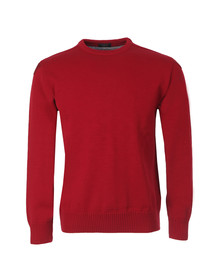 Paul & Shark Mens Red Knitted Jumper