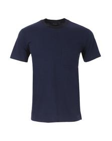 Paul Smith Jeans Mens Blue Regular Stripe Pocket T Shirt