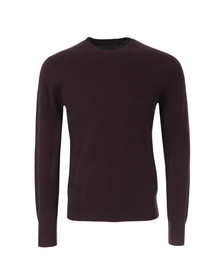 Paul Smith Jeans Mens Red Knitted Crew Neck Jumper