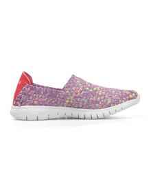 Waffle Pump Womens Purple 11621 Shoe