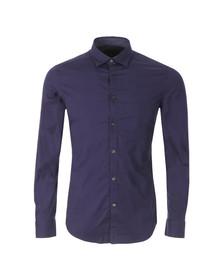 Diesel Mens Blue Toki Plain Shirt