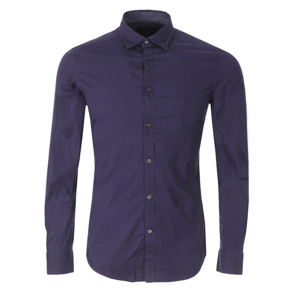 Diesel Mens Blue Toki Plain Shirt main image