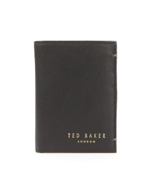Ted Baker Mens Black Core Mini Card Wallet