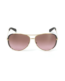 Michael Kors Womens Gold MK5004 Chelsea Sunglasses