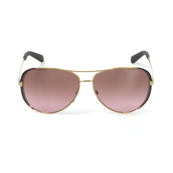 Michael Kors Womens Gold MK5004 Chelsea Sunglasses main image