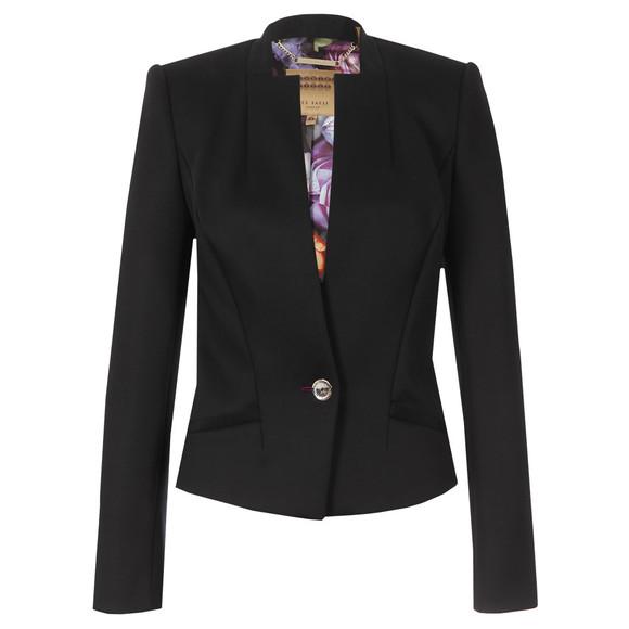 23f515c42fe51 Ted Baker Womens Black Chaya Neoprene Suit Jacket main image