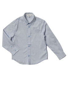 Boss Boys Blue J25977 Plain Shirt