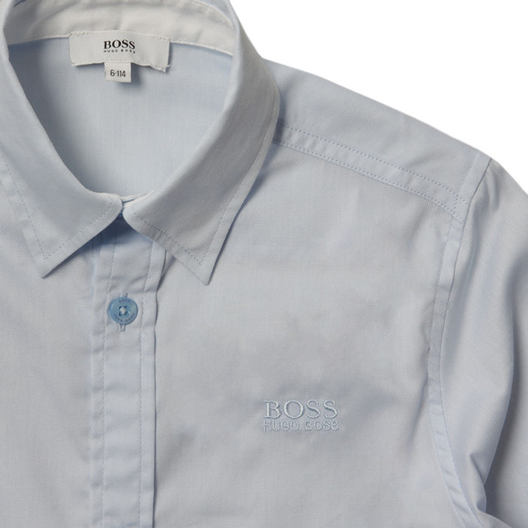 BOSS Bodywear Boys Blue J25977 Plain Shirt main image