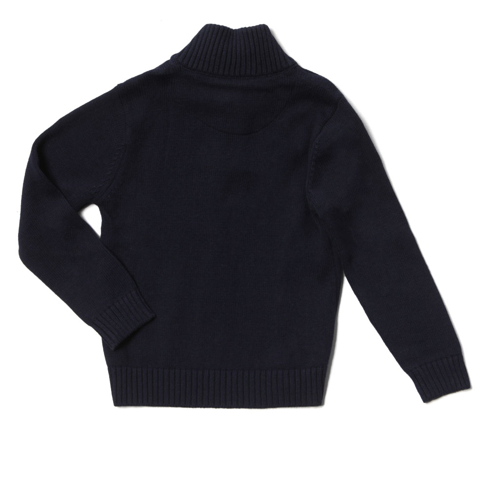 Boys Half Button Jumper main image