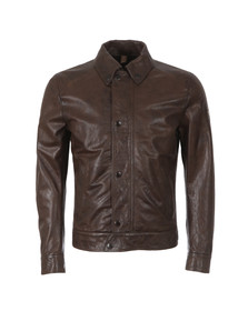 Matchless Mens Brown Captain Jacket