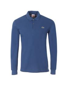 Lacoste Live Mens Blue Long Sleeve Polo Shirt PH1341