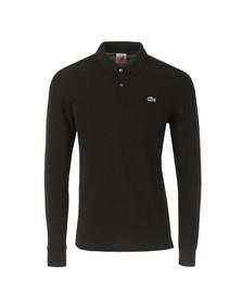 Lacoste Live Mens Black Long Sleeve Polo Shirt PH1341